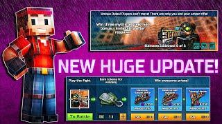 Pixel Gun 3D - NEW HUGE UPDATE 14.0.0 (NEW WEAPONS / EVENT / MODE / MENU)