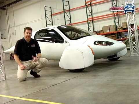 3-Wheeled Oddball:  2008 Aptera Electric Car