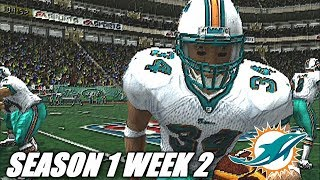 COME ON RICKY - MADDEN 2004 DOPLHINS FRANCHISE VS TEXANS - s1w2