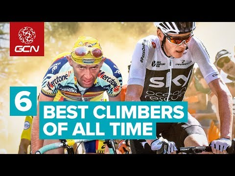 Top 6 Climbers Of All Time | Road Cyclists Vs Mountains
