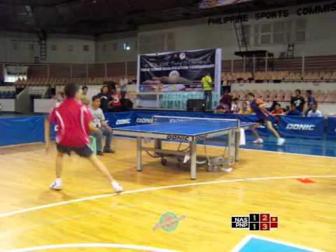 """NASHSPINNER: 1st Jose """"Peping"""" Cojuangco Qualification Table Table Tennis Tournament"""