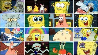 SPONGEBOB GAME FRENZY ALL FAILS + ALL WINS