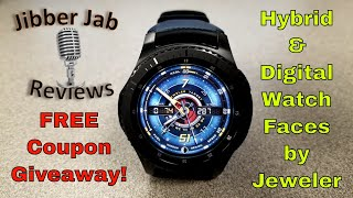 Samsung Gear Hyrbid and Digital Watch Faces by Jeweler - FREE Coupon Giveaway! - Jibber Jab Reviews!