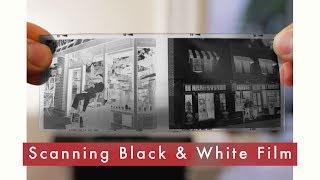 Scanning Black & White Negative Film