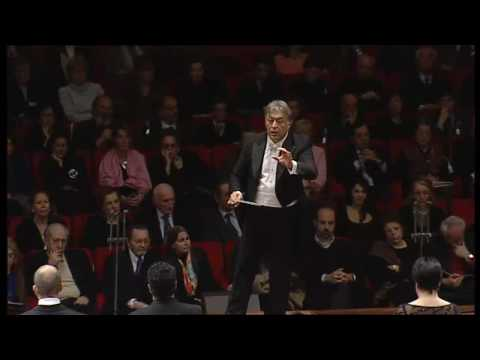 Zubin Mehta conducts Verdis Requiem Dies irae and Tuba mirum