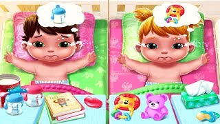 Fun Baby Twins Baby Care - Play Fun Newborn Baby Care, Babysitter, Dress Up Mini Fun Games