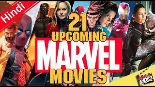 21 Upcoming Marvel Movies [Explain In Hindi]