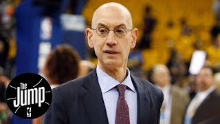 NBA commissioner Adam Silver met with NCAA to discuss one-and-done rule | The Jump | ESPN