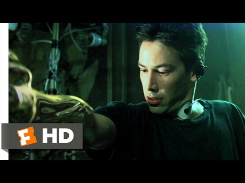 The Matrix (3/9) Movie CLIP - Waking From The Dream (1999) HD