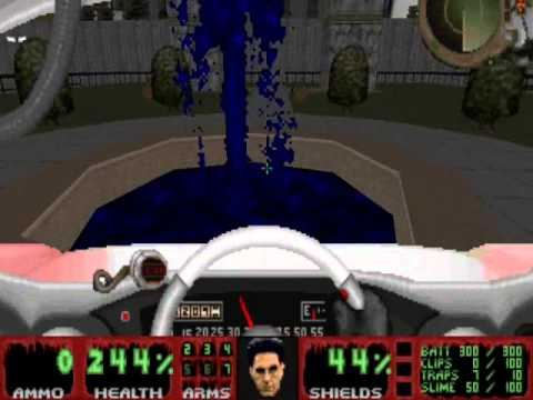 Pauls Gaming - Doom2 maps - Ghostbusters Doom 2 DEMO