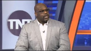 "Inside The NBA | Shaquille ""Can't Still Sit"" LeBron, Lakers are better than Kawhi, Clippers & Bucks"