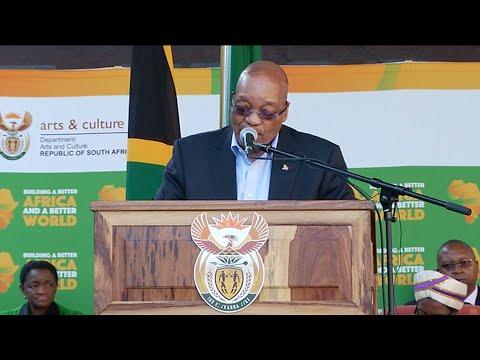 President Jacob Zuma addresses National Prayer Day