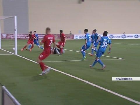 Красноярский ФК Енисей обыграл Сибирь из Новосибирска в матче ФНЛ