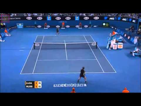 Novak Djokovic vs Andy Murray - Best Point On Australian Open Final 2013 HD