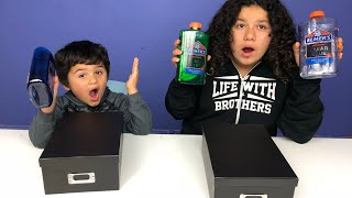 MYSTERY BOX OF SLIME SWITCH-UP CHALLENGE!!!