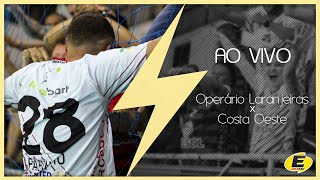 Operário Laranjeiras Futsal  X Costa Oeste Medianeira - ( Paranaense Bronze)