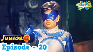 Junior G Episode 20 - Hindi | Popular TV Series For Kids | HD SuperHero TV Show | ज्युनियर जी कड़ी-20