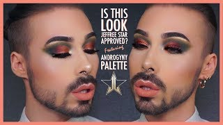 IS THIS LOOK JEFFREE STAR APPROVED?! Ft Androgyny palette | Fashination