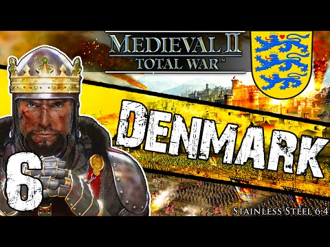 Stainless Steel [6.4] Medieval 2 Total War: Denmark Campaign #6 ~ Charge To Victory!