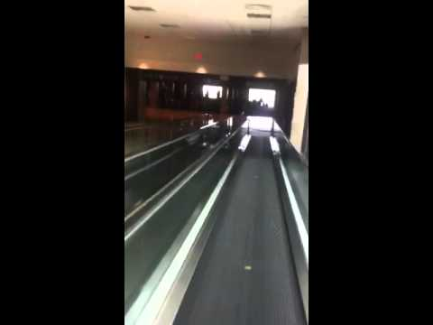 Moving Walkway at Memphis International Airport, Terminal C