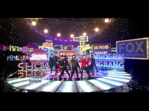 Big Bang 'tonight' Live On 2011 Bigshow video