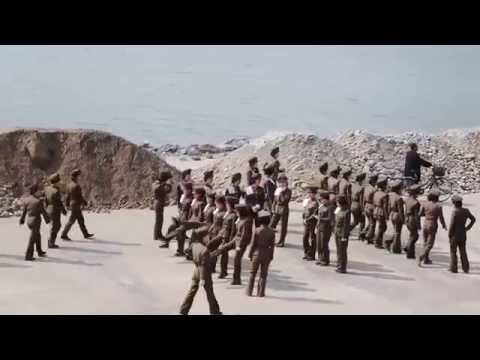 Pyongyang 병양 Female Army Recruits Practice
