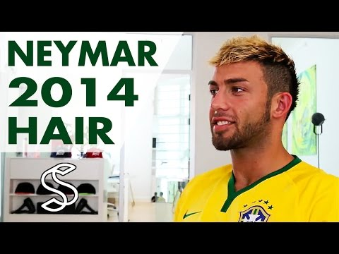 Neymar hair | world cup 2014 | How to style mens hair