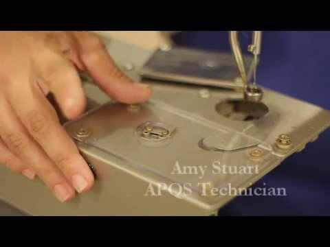 APQS Instructional: Thread Cutter Adjustments