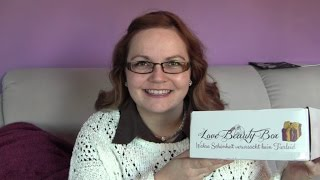 Love Beauty Box September 2015 ♥ vegane & tierversuchsfreie Kosmetik