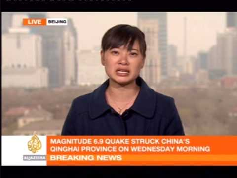 Magnitude 6.9 earthquake hits Qinghai Province China