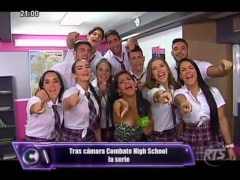 Combate RTS Ecuador Tras Cámaras Combate High School La Serie