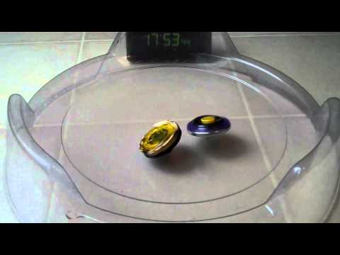 Scythe Kronos T125EDS vs. Hell Kerbecs BD145DS Beyblade Metal Fight