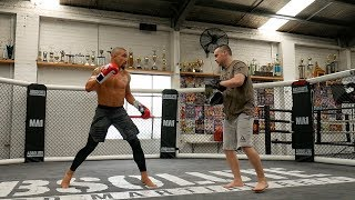 UFC 234 Robert Whittaker & Jim Crute Open Training