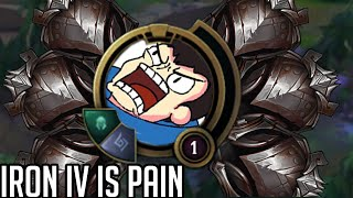 League of Legends but it's 10 and a half minutes of Iron IV plays