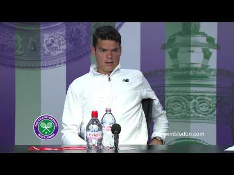 Milos Raonic final press conference