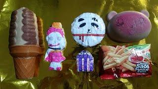MAINAN SQUISHY RUSAK dan SQUISHY BUATAN SENDIRI    đồ chơi trẻ em