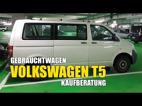 Volkswagen VW T5 Bus (2003-2015) - große Gebrauchtwagen Kaufberatung Empfehlung Ratgeber Erfahrung