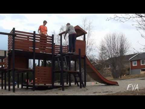 FVA- Playground Backflip Fail