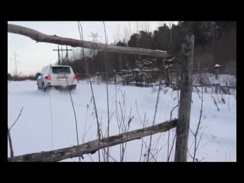 Toyota Highlander, тест-драйв