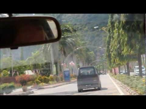 Betong, Thailand to Penang, Malaysia