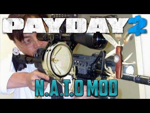 [Payday 2] N.A.T.O - Mod showcase #1