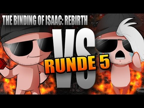 ISAAC VERSUS: AXoNii - Run 5 - Let's Race The Binding of Isaac Rebirth