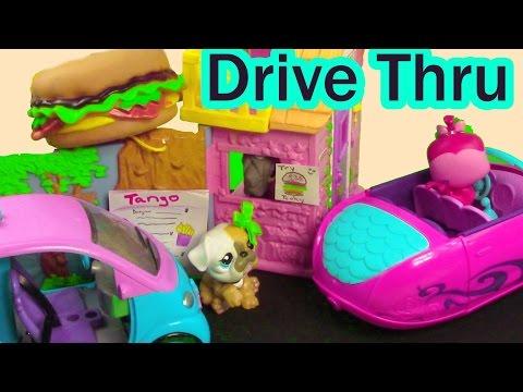 LPS Drive Thru - Mommies Part 33 Littlest Pet Shop Series Movie LPS Mom Babies