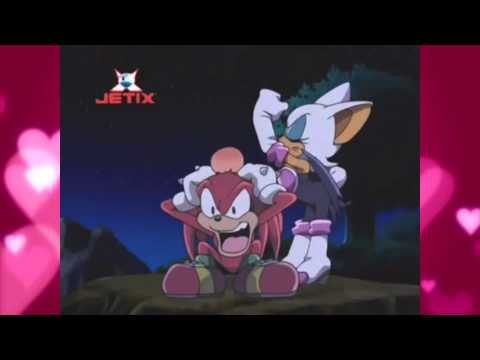 .:Knuckles and Rouge - Sonic X Dub - Valentines Day Special:.