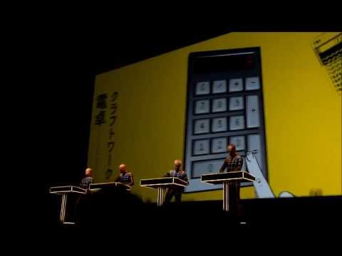 KRAFTWERK - Pocket Calculator / Dentaku (Live at Namba Hatch, Osaka Japan 18-May-2013)
