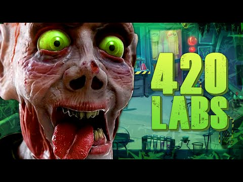 Call of Duty Zombies ★ 420 ZOMBIE LABS