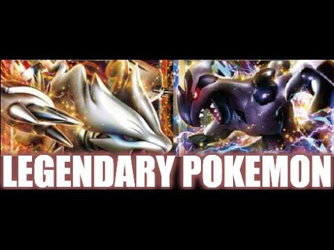 Pokemon Black And White Legendary Pokemons Pokemon Black/white Legendary