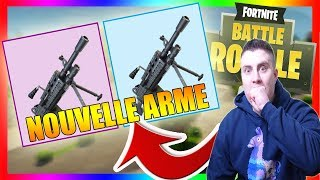 TEST LA MITRAILLEUSE LÉGERE FORTNITE BATTLE ROYALE [FR/PS4/LIVE]