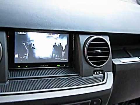 Land Rover TDV6 SE Alpine Multimedya Navigasyon Calısması