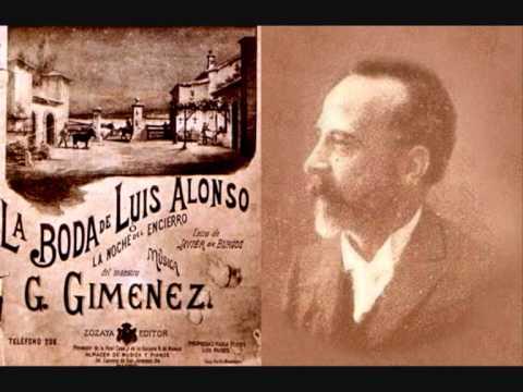 Jeronimo Gimenez - La Boda De Luis Alonso Intermedio